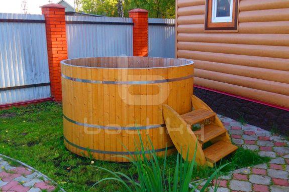 Купель от Bochky® является отличным дополнением к бане. Купели изготавливаются из натуральных материалов.